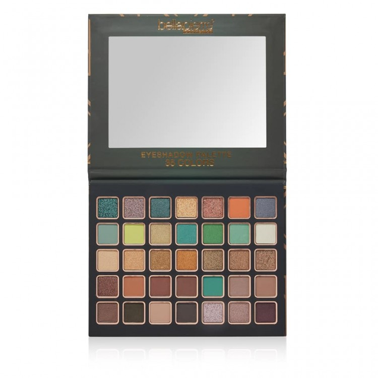 Bellápierre Emerald City 35 eyeshadow palet