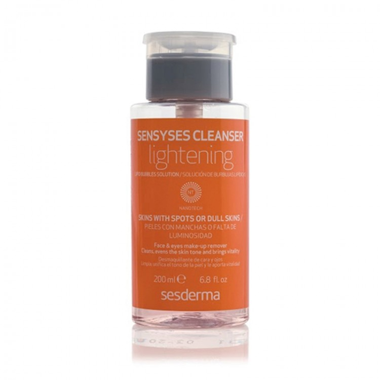 Sesderma Sensyses cleanser lightening oranje