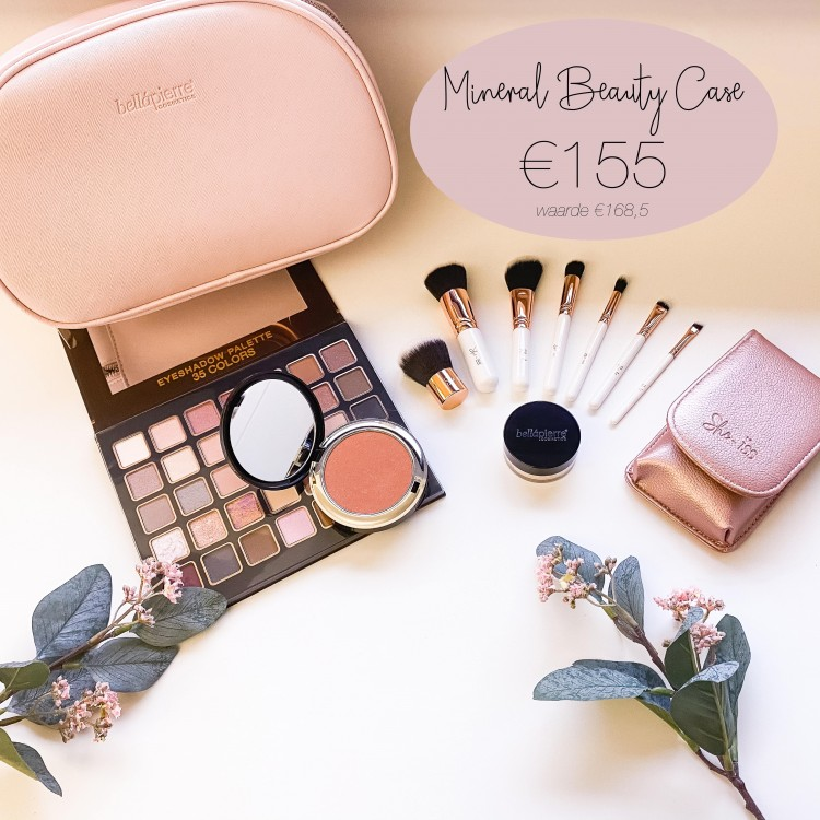 Bellápierre Mineral beauty bag Desert roze
